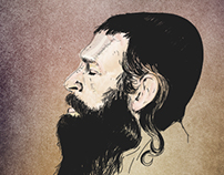 Portrait of orthodox jews. old works
