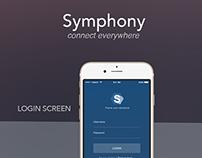 SYMPHONY App Design