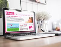 Website Design Concept | BlushLA