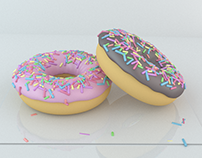 Donuts - My first Blender project