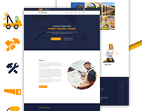 Amber Housing Construction PSD Template