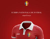 Moldova National Jersey Soccer Kit - 2016