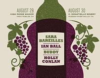 Sara Bareilles Wine - Poster Animation