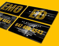 Ed Mortenson: Business Card Design