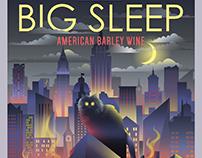 Raduga Big Sleep Beer Label