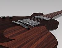 Spade Guitar