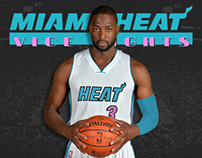 Miami Heat - Vice Nights Alternate Design Project