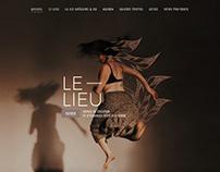 Site web de la compagnie de danse Grégoire & Co