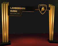 Lamborghini Dubai Showroom Opening Ceremony
