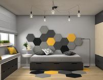 Teenager's room