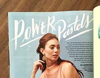 Balitmore Magazine Lettering