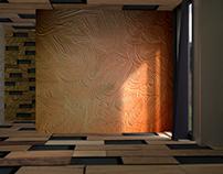 3d Realistic Room Texture Modeling in Blender 3d
