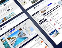 Travondo Travel Website Concept