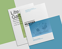 LiteGait/NuStep | Editorial Design