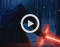 Kylo Ren (Star Wars Motion Graphic)