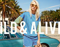 Wild & Alive Spring Summer 2015 Ad Campaign + Website