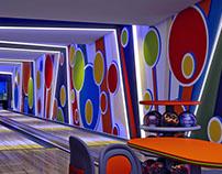 Bowling alley. Aigo hotel. Austria