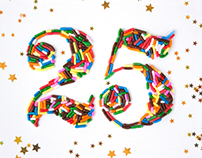 Birthday Sprinkle Typography