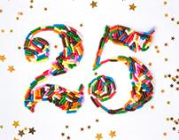 Birthday Sprinkle Typography