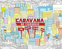 Ilustração Caravana