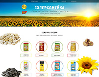 "Корпоративный сайт компании ""Суперсемейка"""