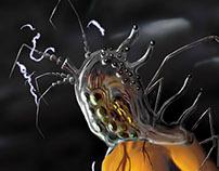 Electro Ameba Parasite