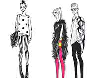 Fashion Illustration Sketches