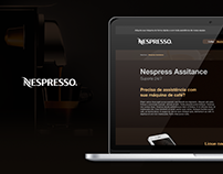 Nespresso - Ux/Ui Design