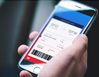 American Airlines app redesign