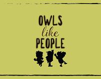 Owls like people
