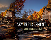 """New """"Sky Replacement"""" Feature in Photoshop"""