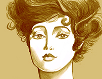 Drawing Portfolio: Gibson Girl