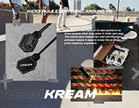 KREAM Brand Identity & Certificate Package Design
