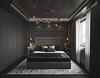 The Dark Grey Bedroom