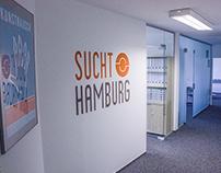 Sucht.Hamburg GgmbH Wall design