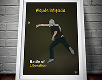 Poster of Alquds Intifada