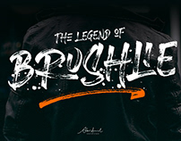 FREE | Brushlie Urban Brush Typeface