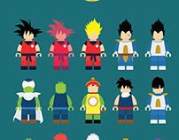 dragon ball(lego ver)