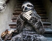 Realistic Sloth Costume
