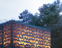 the Bold Canggu conceptual facade by Gusde Wastubali