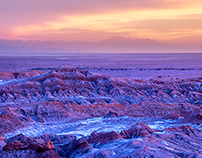 Chili, désert d'Atacama