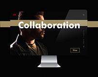 The Weeknd x H&M Website Design