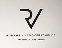 Romane  •  Architecte d'Intérieur Brand identity