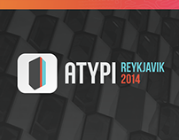 Atypi2014: Reykjavik — Event Branding