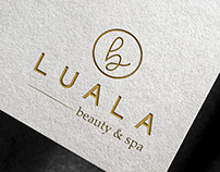 Lua La Spa Logo Design
