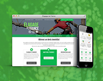 Élagage de France: Wordpress website