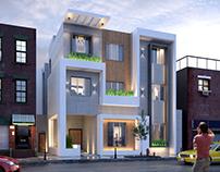 Exterior Building Elevation Design