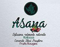 Création de logo pour boisson infusion et fruits