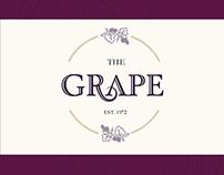 The Grape Menu Design