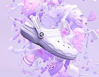 Crocs Campaign Illustrations